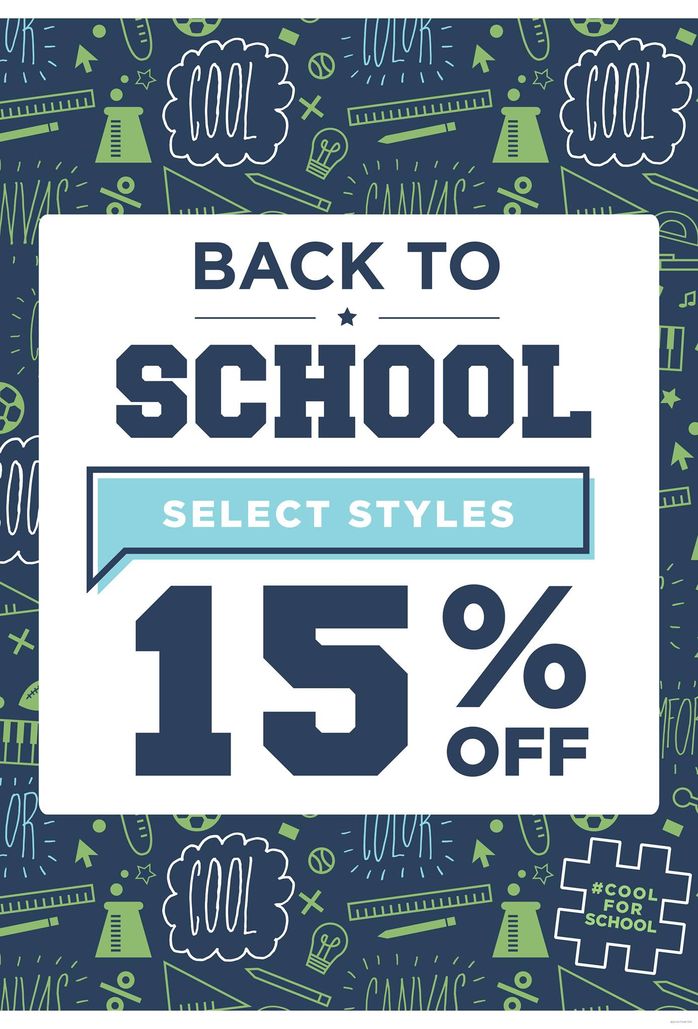 "15% Off Selected ""Back To School"" Footwear @ Payless Shoesource This May"