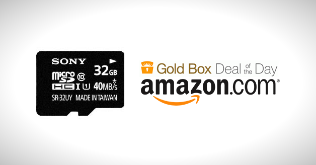 Big Discounts On Sony Memory Products @ Amazon Today