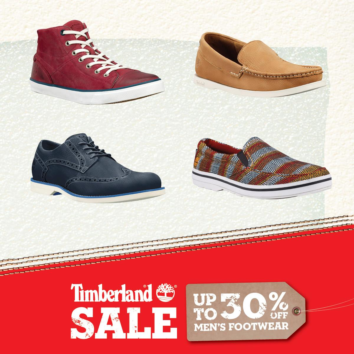 Timberland Launches 30% Off Men's Footwear In Line With GSS 2014