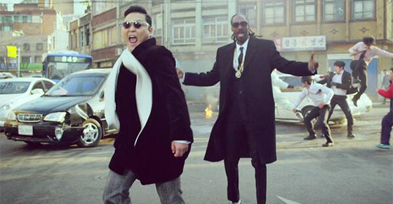 Muse Over Your Clubbing Nights With Psy New Hangover Music Video