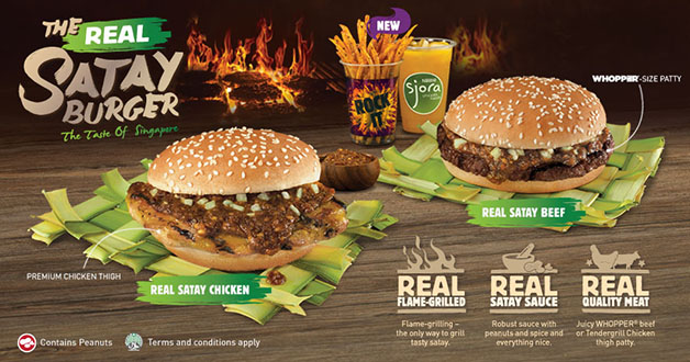 Burger King Claims Real Satay Burger, Receives Positive Feedback