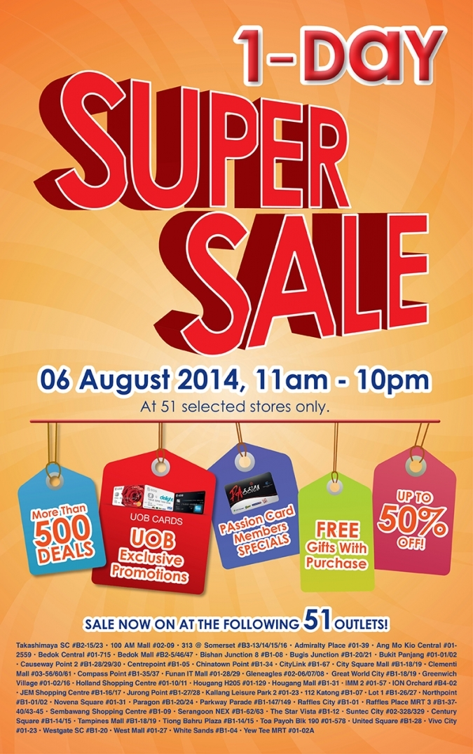 More Than 500 Deals @ Guardian 1-Day Super Sale Today