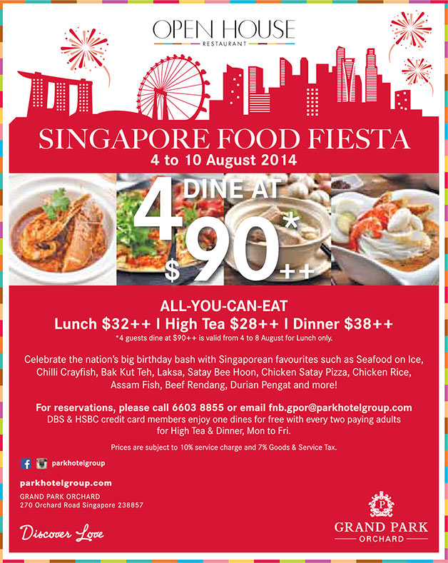 Open House Buffet Restaurant Celebrates National Day With Food Fiesta Offers