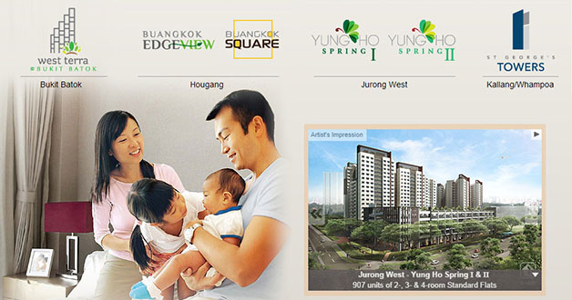 HDB September Exercise Sales Launches 6 New BTO Projects
