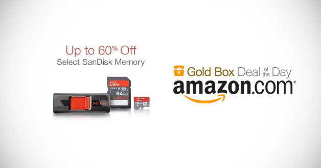 Sandisk Memory Products Up to 60% Off @ Amazon Today Only