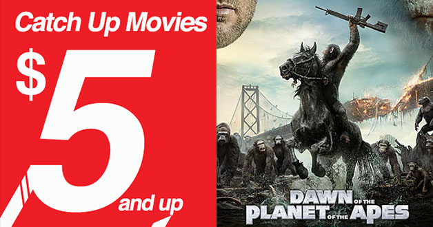 Golden Village $5 Catch Up Movie – Dawn of the Planet of the Apes