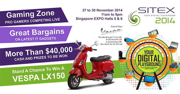 Four key highlights in SITEX 2014 happening at Singapore Expo this weekend