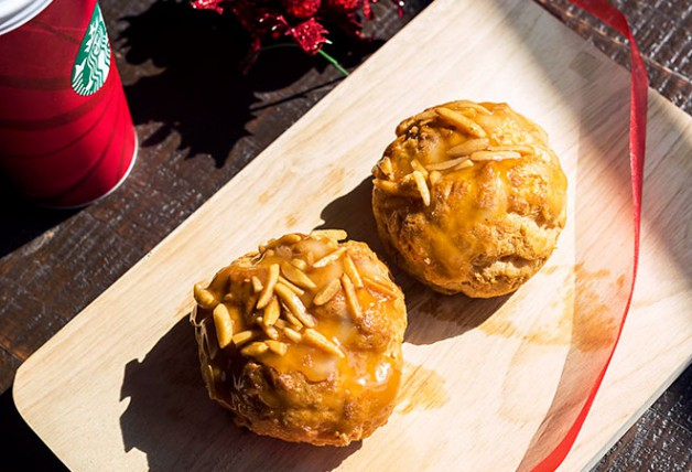 Day 8: One-for-one Salted Caramel Cream Puff