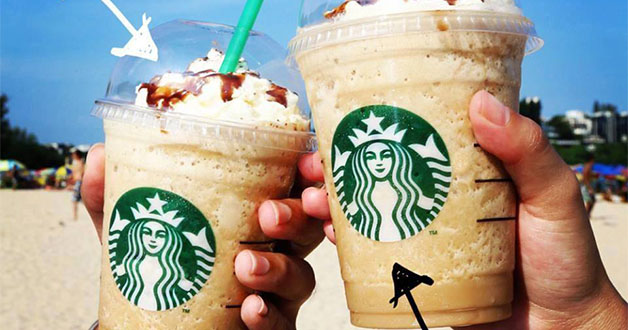 Starbucks 1-for-1 on all beverages in any sizes strikes again this week