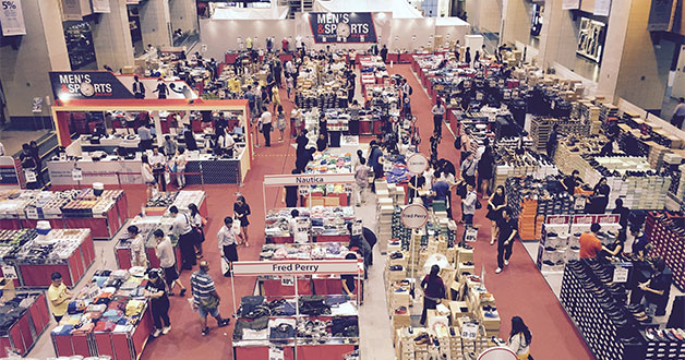 Takashimaya Men's & Sports Bazaar will run for a couple of weeks