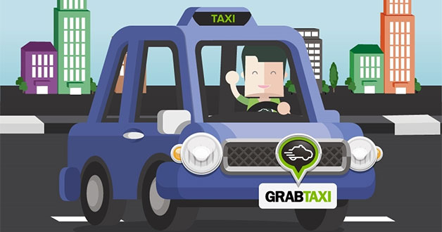 GrabTaxi offers $10 worth of rides for just $4.90 with promo code on Qoo10