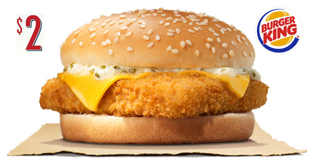 Burger King Fish'N Crisp is now just $2 with 40% more fish