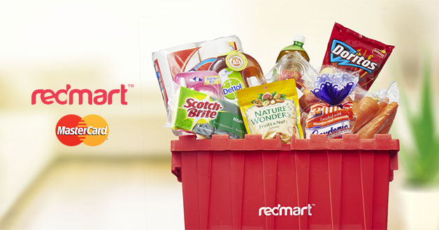 Enjoy 20% off your groceries at Redmart when you pay with MasterCard