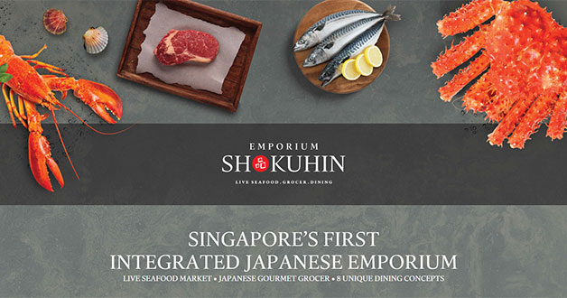 Mega Japanese grocer Emporium Shokuhin opens in Marina Square