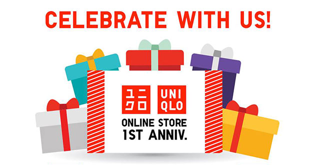 Uniqlo celebrates its online store 1st anniversary with mini game that let you win stuff