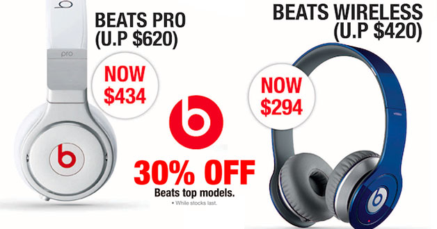 30% off Beats top headphone models at SITEX 2015