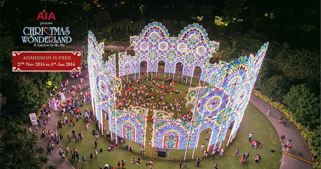 Gardens by the Bay turns into a Christmas Wonderland spectacular this holiday season