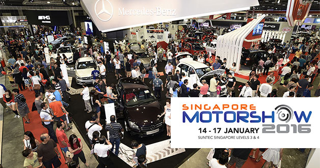 Singapore Motorshow 2016 to be held mid-January in the new year