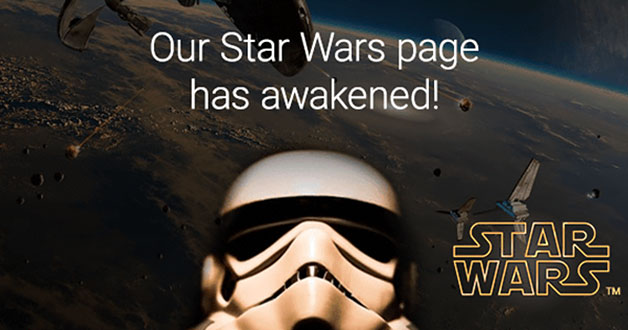 Book Depository's Star Wars page will keep you busy this Christmas