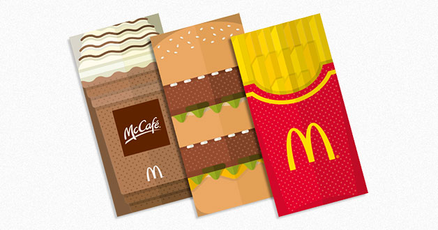 McDonald's Exclusive Red Packet Giveaway with Golden Treasure Extra Value Meal