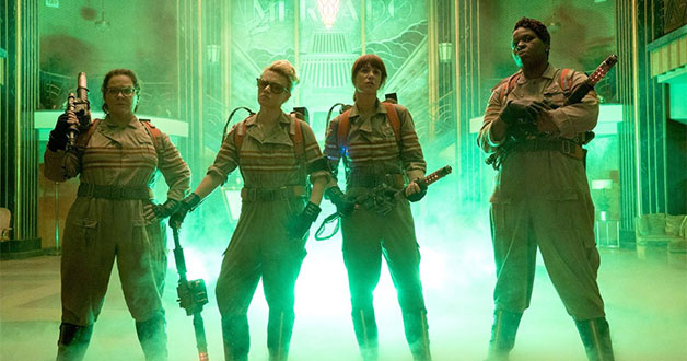 Watch the first official movie trailer for the new Ghostbusters