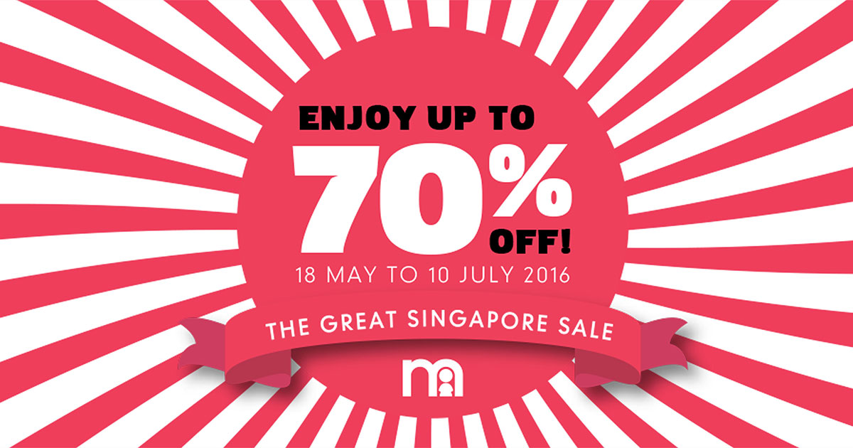 Mothercare Great Singapore Sale 2016: 24 pages of discounts & offers inside