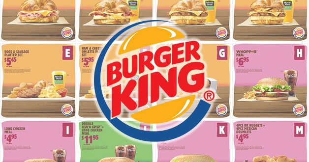 Burger King latest Discount Coupons available for use till July 8