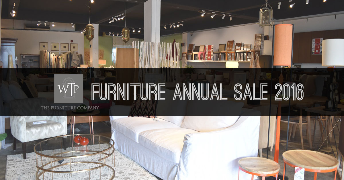 WTP Annual Sale 2016 returns with big discounts on home furniture & accessories