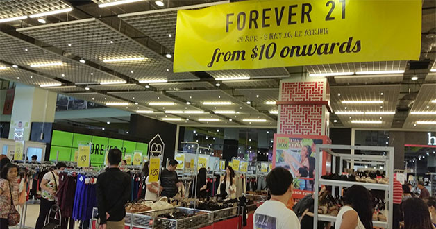Forever 21 holds Atrium Sale @ Big Box with prices from $10