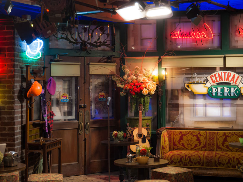 American Sitcom Friends Central Perk Cafe Set To Open Here