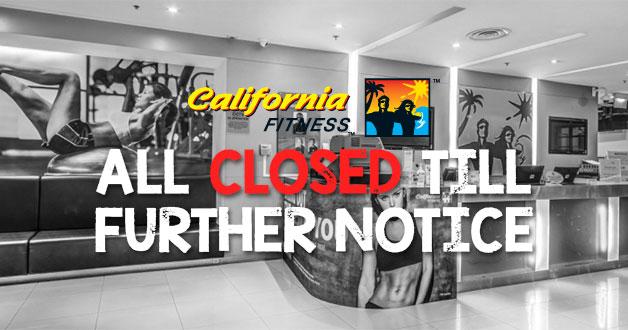 All California Fitness Gyms in Singapore have closed down after official announcement