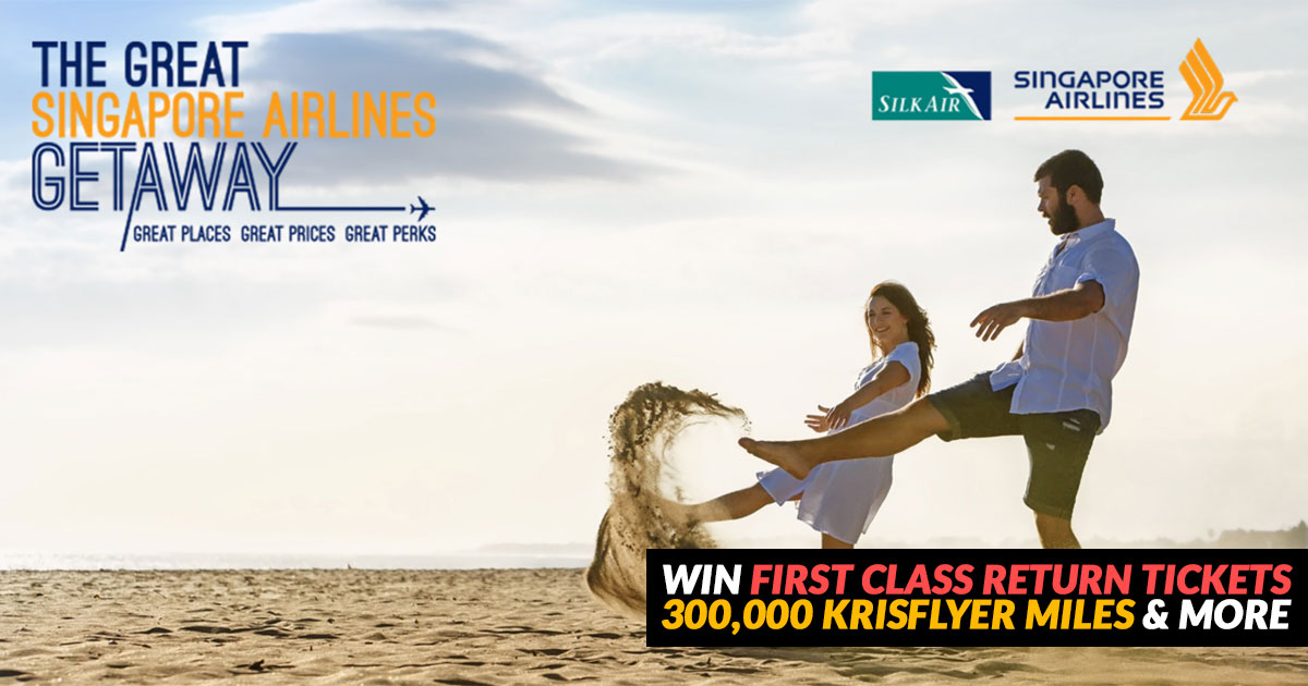 The Great Singapore Airlines Getaway Lucky Draw set to launch on September 1