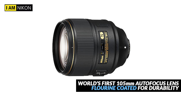 Nikon's latest 105mm f/1.4 Autofocus Lens is the ultimate choice for portrait & street photography