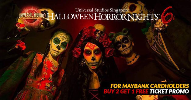 Halloween Horror Nights 6 Promotion: Buy 2 Get 1 Free for Maybank cardholders