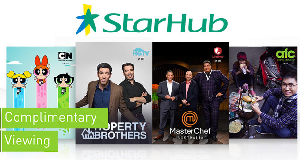 Starhub TV offers free preview on over 70 channels till September 30