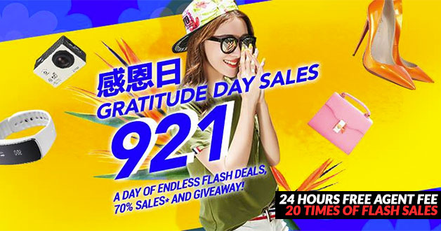 ezbuy set to launch a day of endless Flash Deals in '921 Gratitude Day' Mega Sale