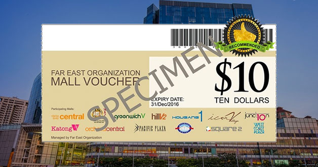 Up to $50 free when you purchase Far East Mall vouchers from this deal