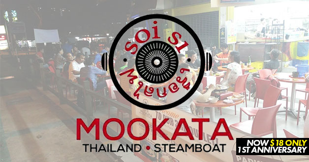 Soi 51 Mookata celebrates 1st anniversary with $18 nett all-you-can-eat buffet