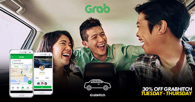 Schedule your rides this week with GrabHitch for a fraction lesser