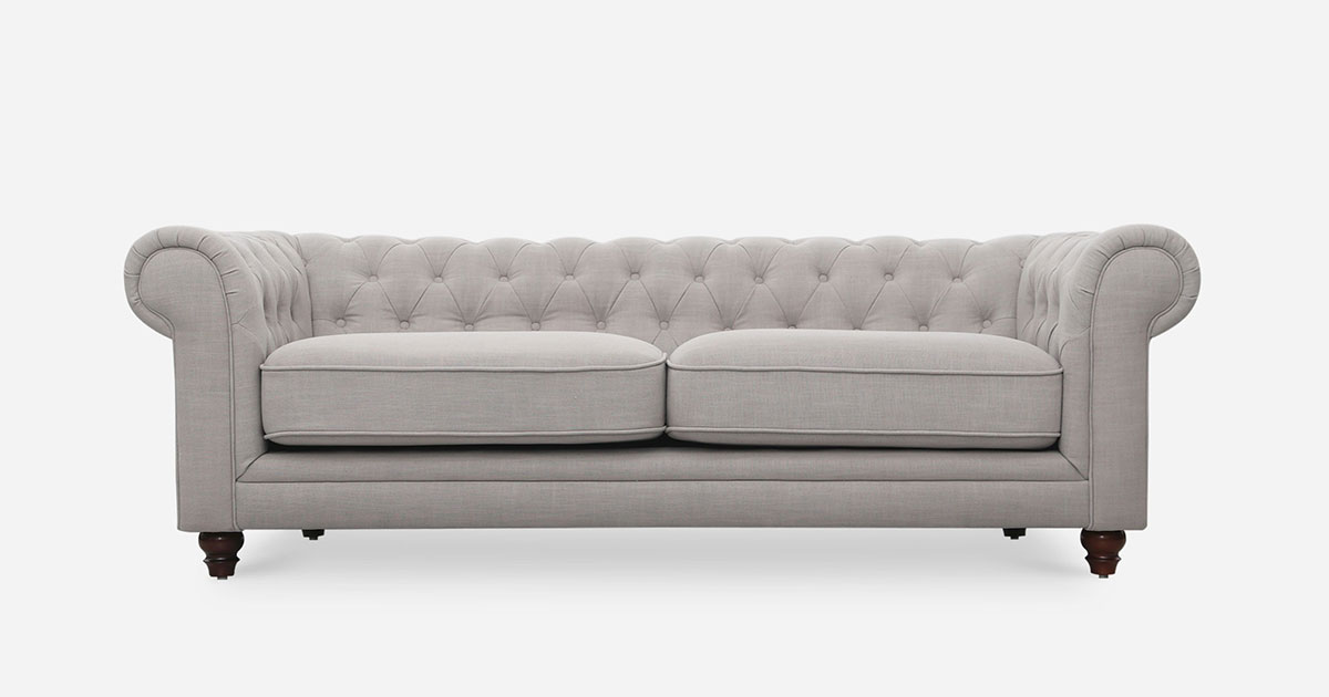 Castlery Edmund Chesterfield Sofa: Mod retro furniture with classic touch