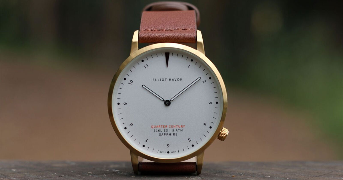 Quarter Century Watch is the world's most affordable Swiss timepiece at US$99