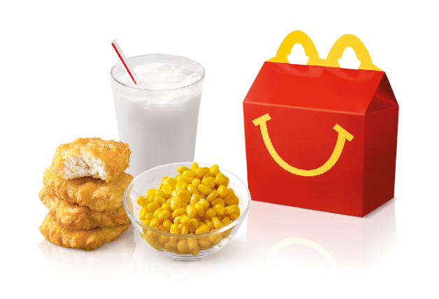 Happy Meal with Corn Cup