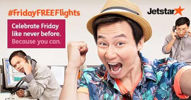 Jetstar Friday Free Fare Frenzy flies you to Taipei, Bangkok, Danang & more for $0