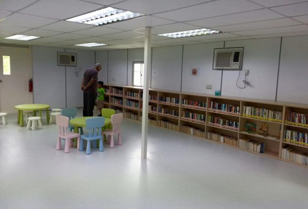 There's a Container Library in Punggol West with over ...