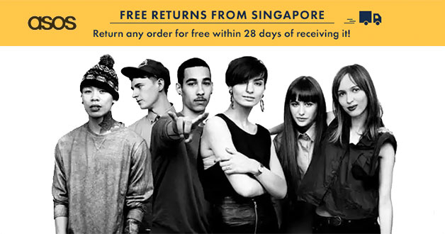 ASOS now lets Singapore customers return orders for free within 28 days of receiving it