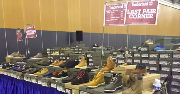 The official Timberland Expo Sale is here. Enjoy savings up to 80% off boots & apparels