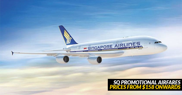 Singapore Airlines latest Promotional Airfares for December now open for booking