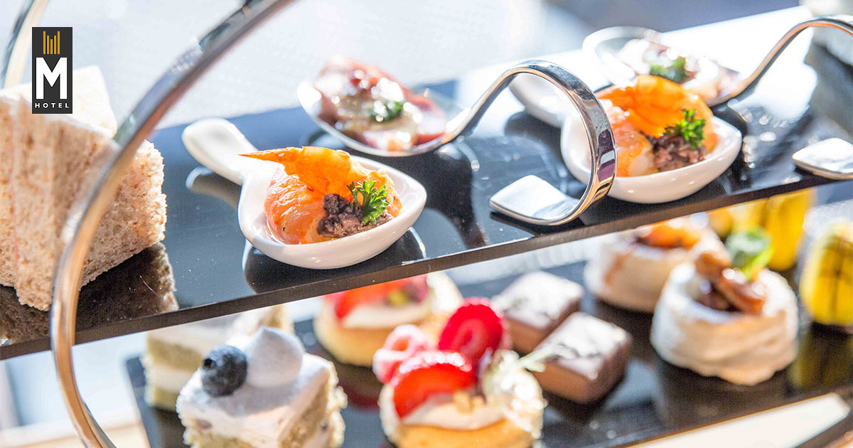 Pay less than $40 for a 1-for-1 High Tea Set at M Hotel's Tea Bar in this limited time offer