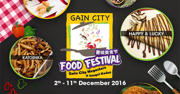 There's a finger-licking Food Festival at Gain City Megastore this weekend