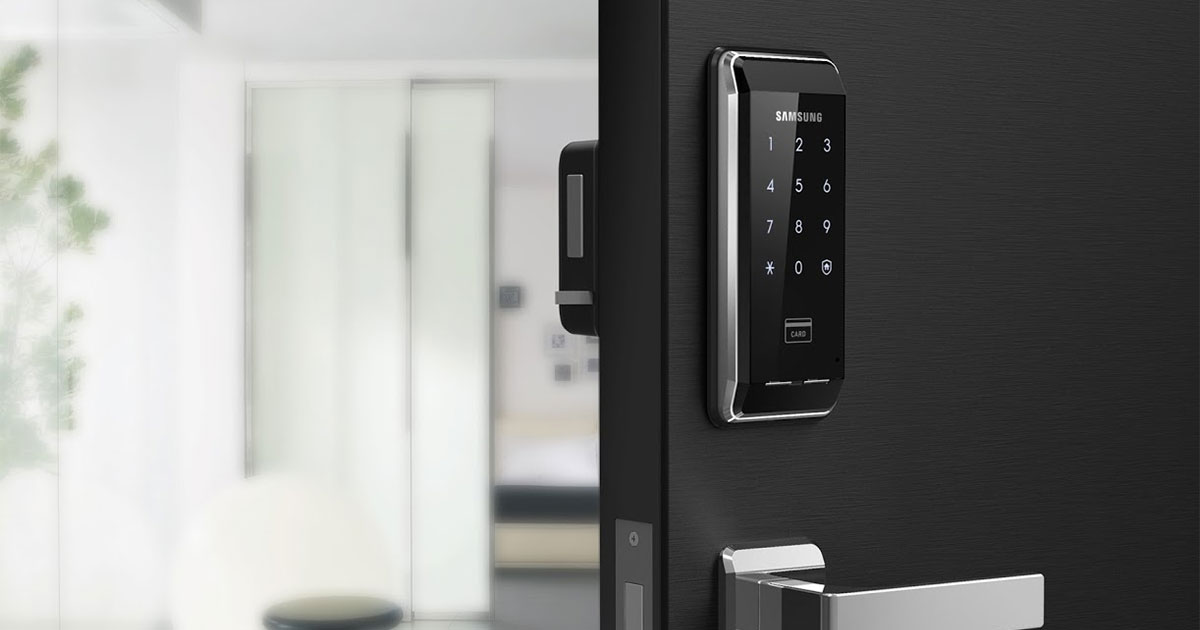 Buy this Samsung Digital Smart Door Lock for less than $80 today